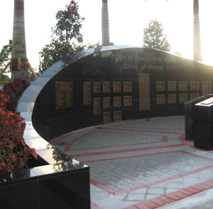 Circle Of Honor Memorial - Pembroke Pines, FL - Town of Pembroke Pines 2