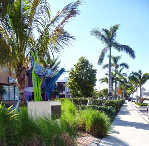 Commercial Blvd Streetscape - Lauderdale-By-The-Sea, FL - Lauderdale-By-The-Sea