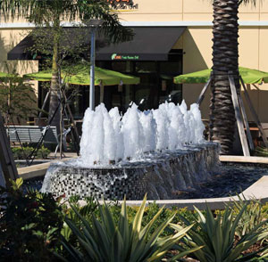 Promenade at Coconut Creek - Fort Lauderdale, FL - Woolbright Development Fountain