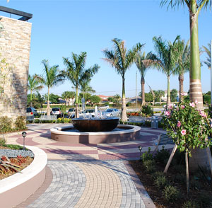Promenade at Coconut Creek - Fort Lauderdale, FL - Woolbright Development Fountain Walkway