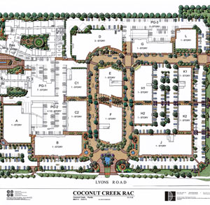 Promenade at Coconut Creek - Fort Lauderdale, FL - Woolbright Development Plan