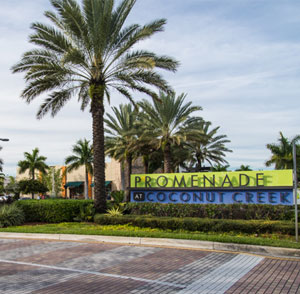 Promenade at Coconut Creek - Fort Lauderdale, FL - Woolbright Development Sign Far