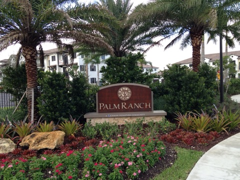 AAL's Multi-family development project, Palm Ranch project starts leasing units