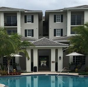 Pembroke Pines, FL Architectural Landscape - AAL - Towne at Pembroke Pines Pool 2T-min