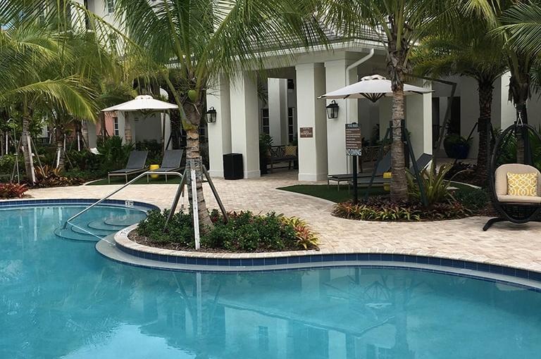 Pembroke Pines, FL Architectural Landscape - AAL - Towne at Pembroke Pines Pool 8-min